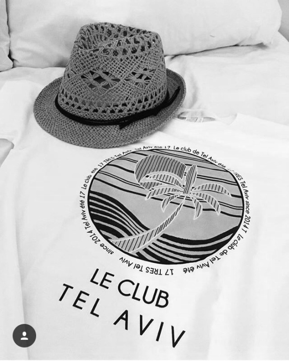 T shirt, hat