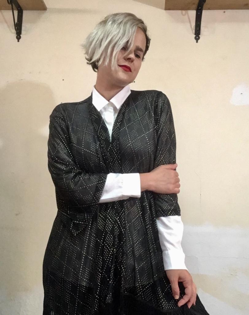kimono, white shirt, Mio Konfedrat