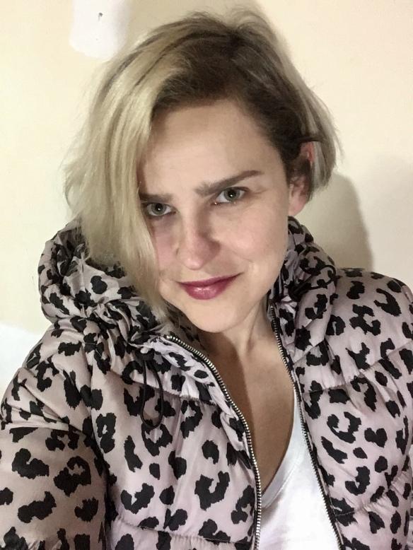 Mio Konfedrat, leopard jacket, Bershka
