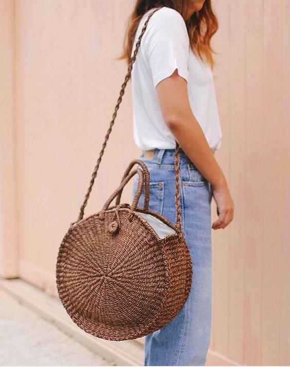 Bamboo & Straw bags